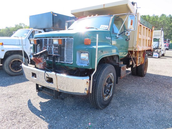 GMC Topkick Single Axle Dump w/ Plow