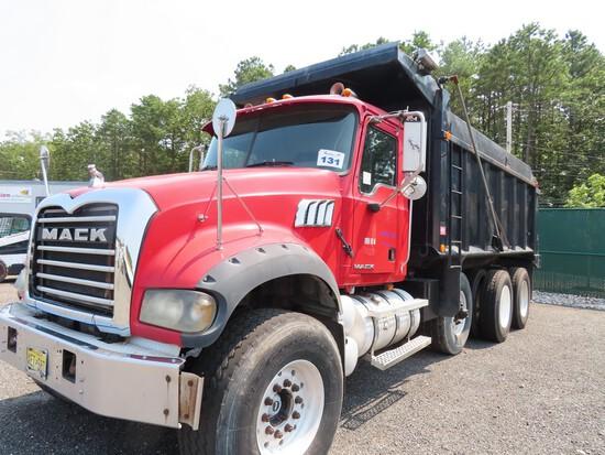 2007 Mack Granite CTP713 Tri-Axle Dump (JACKSON NJ)