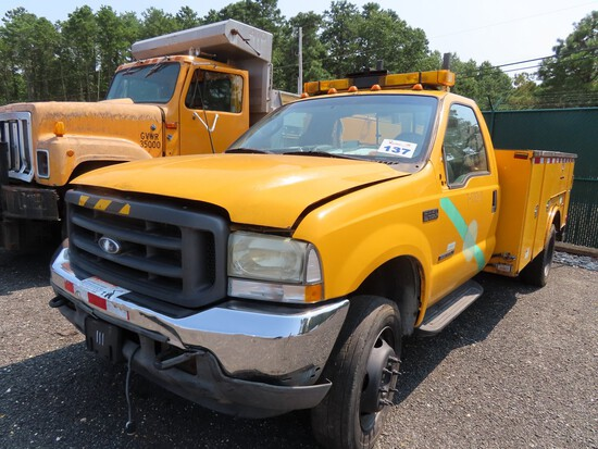 2002 Ford F550 Utility Truck (JACKSON NJ)