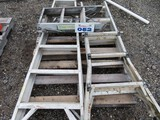 Lot of 3 Ladders
