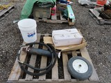 Misc Lot of Parts. Hydraulic Cylinder, E350 Coil Springs,
