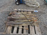 Lot of Ground Stakes