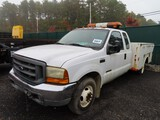 2001 Ford F-350 Utility Truck