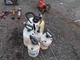 Lot of Fertilizer Sprayers Approx 6