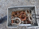 Lot of D-Rings and Chains