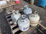 Lot of Propane Tanks Approx. 4