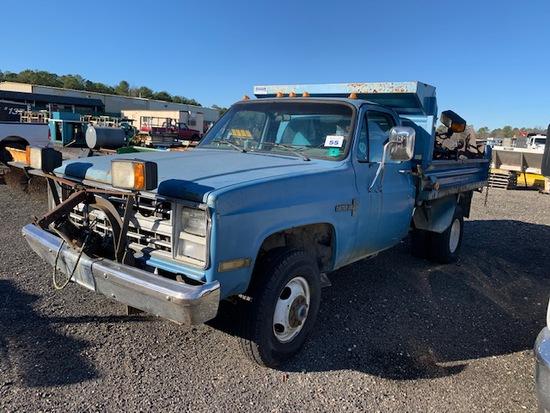 Chevy Custom Deluxe Mason Dump