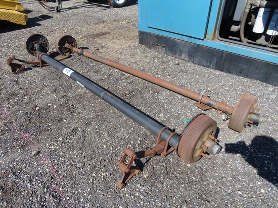 Lot of 2 Trailer Axles