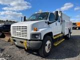 2007 GMC C8500 Crew Cab Utility Truck