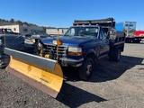 1996 Ford F-350Mason Dump W/ Plow