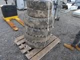 Set of 6 Forklift Solid Tires 7.00-12/8.25-15