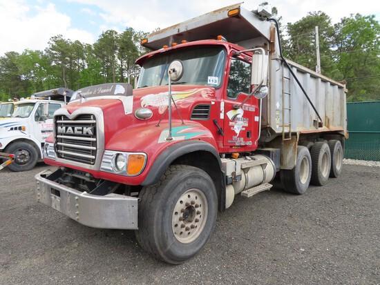 2004 Mack Granite Tri Axle Dump