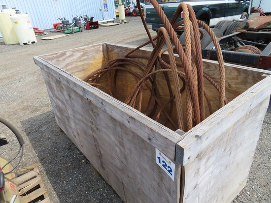 Lot of Cable Slings and Shackles