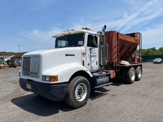 1994 International 9200 Volumetric Concrete Truck