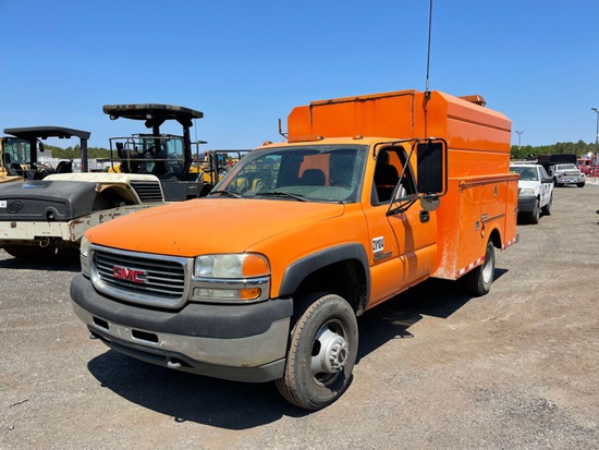 2002 GMC 3500 Service Truck