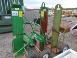 Lot of 3 Torch Tank Carts