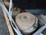 Lot of Fire Hose Approx. 25 Hoses