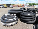 Lot of Drainage Pipe Approx 10 Rolls