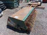 "Bobcat 72"" Sweeper Attachment for Skidsteer"