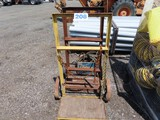 Lot of 2 Torch Carts w/ Torches and lines