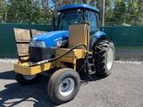 2014 New Holland TS6 110 W/ Side Mower