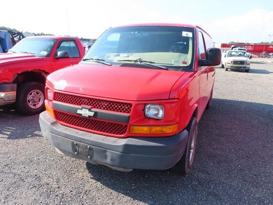 2008 Chevy 2500 Van