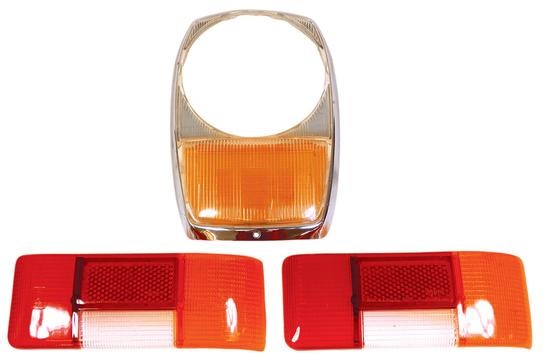 Automotive Parts (3), Mercedes-Benz 114 & 115 lenses: