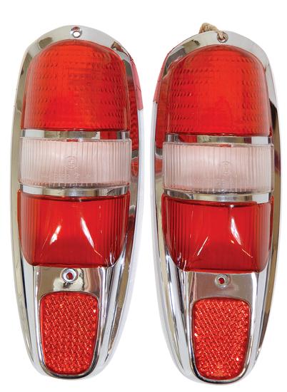 Automotive tail lights (2), Mercedes-Benz Ponton,