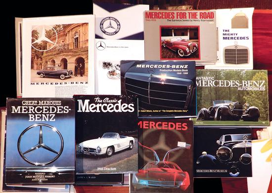 Automotive Literature (11), Mercedes-Benz full-color