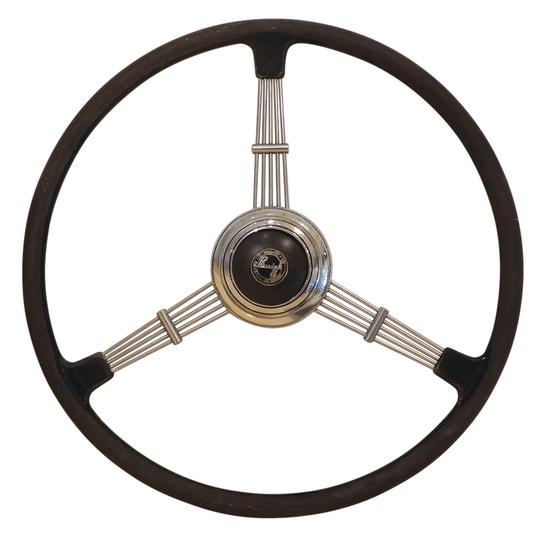 Automotive Steering Wheel, Buick, 3 banjo spokes &