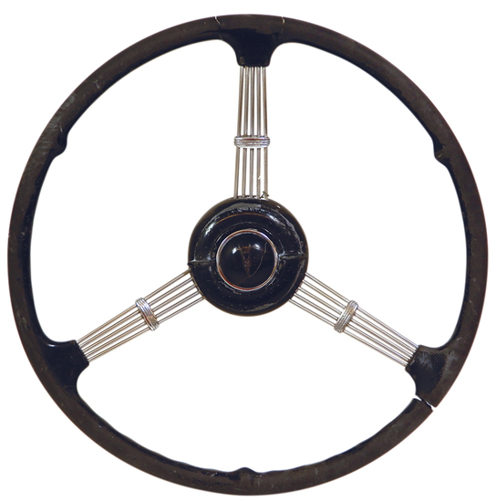Automotive Steering Wheel, Buick, V-8 horn button w/3