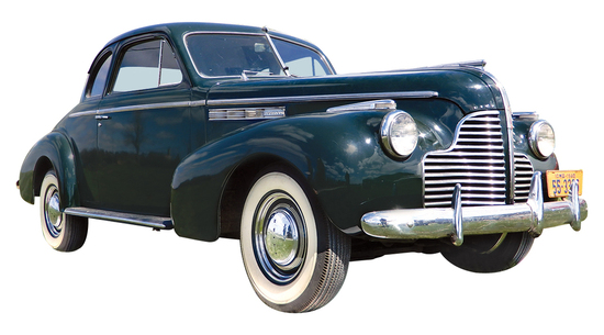 1940 Buick Business Special Coupe. Daryl and Ann Hemken