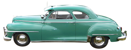 """1947 DeSoto. This is one of those """"too good not to save"""
