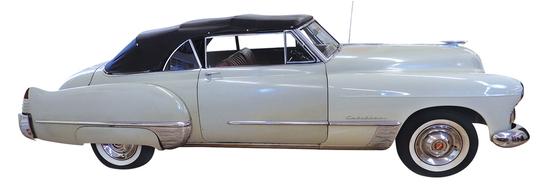 """1948 Cadillac Convertible. """"Symbol of"""
