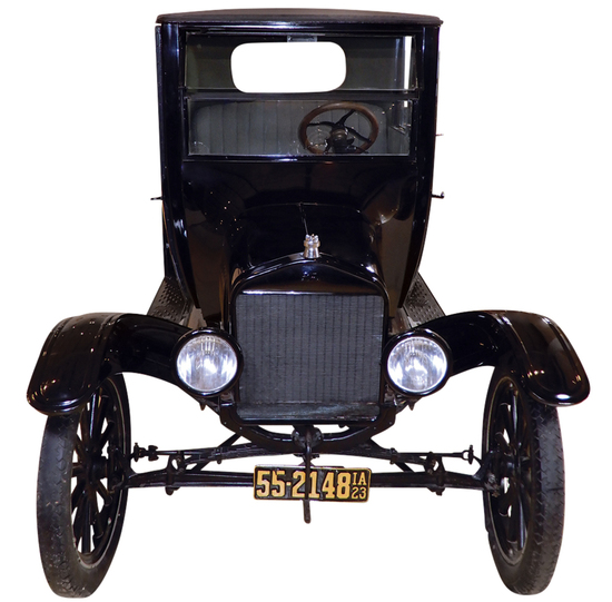 1923 Model T Ford. Daryl Hemken purchased this car in