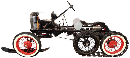 "1927 Model T ""Snowbird"" This is a rare restored"