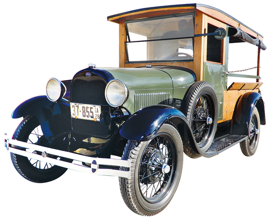 1928 Ford Model A Grocery Wagon. This fully restored