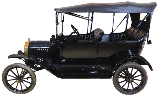 1916 Ford Model T Phaeton. This Model T was totally