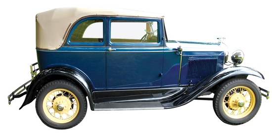 1931 Ford Model A 400 Convertible. The Model A Ford