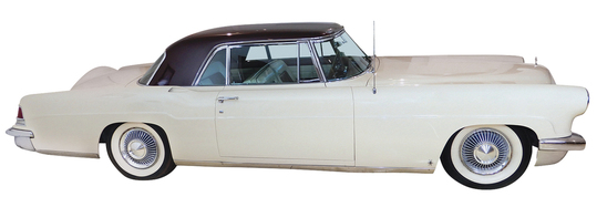 1956 Lincoln Mark II. Ford Motor Company introduced the