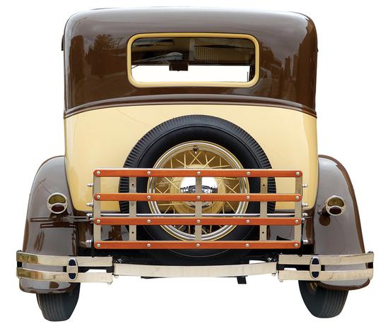 1931 Ford Model A Victoria Sedan. In 1938 Melvin (Slim)