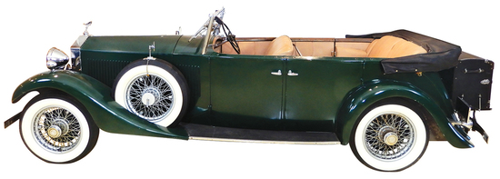1933 Rolls Royce 20/25 Four-Door Phaeton. This car was