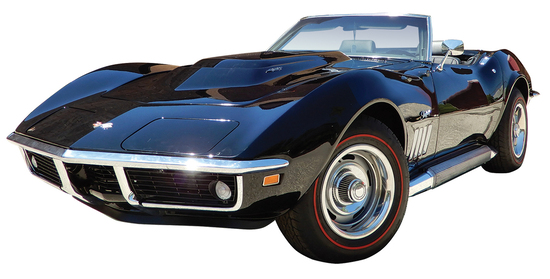 1969 Corvette L88 with matching numbers. Chevrolet