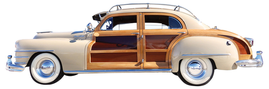 1947 Chrysler Town & Country. A car thought to be once