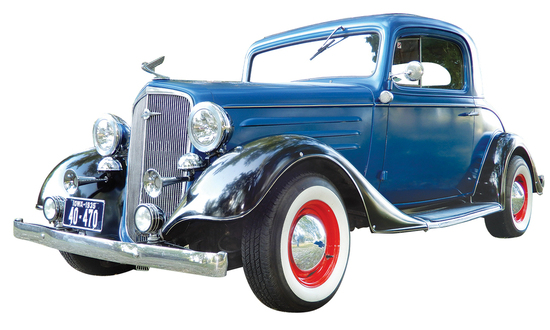 1935 Chevrolet 3-Window Coupe Street Rod. A '35