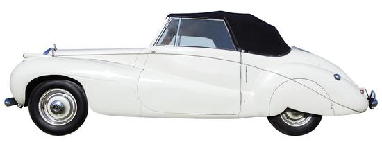 1952 Daimler DB18. The Daimler DB18 Barker Special