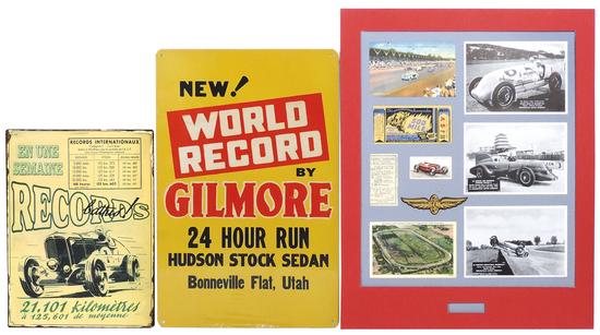 Automotive Memorabilia (3), Gilmore Racing group of