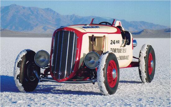 Gilmore Racer. 1937 Hudson Speedster (titled as '31