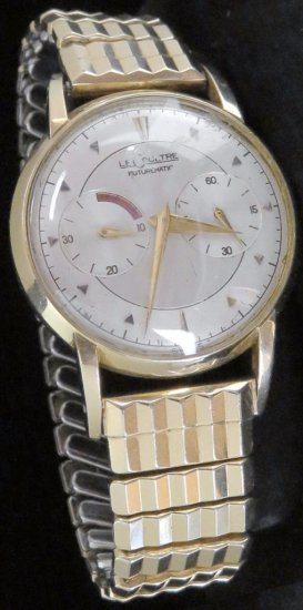 Le Coultre Futurematic Men's Wrist Watch.