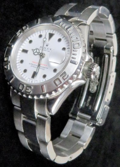 Rolex Yacht-Master Oyster Perpetual Date Lady's Wrist Watch.